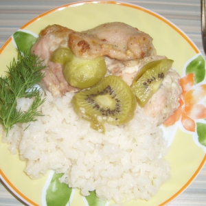 Киви - Курица с киви