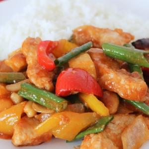 Рецепты китайской кухни - Курица в кисло-сладком соусе по-тайски