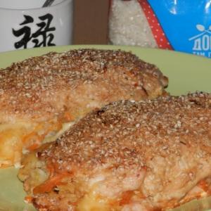 Имбирь - Куриная грудка По-японски