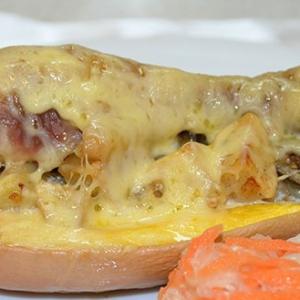 Рецепты украинской кухни - Куриная ножка в тыкве