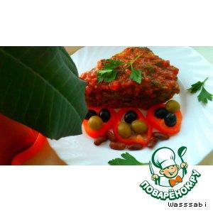 Пекан - Куриная запеканка с фасолью под винно-томатным соусом