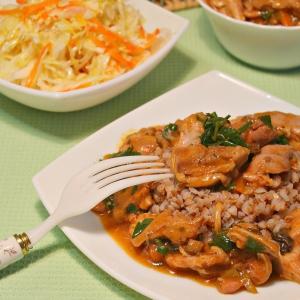 Сморчки и строчки - Куриное филе из мультиварки с гречкой
