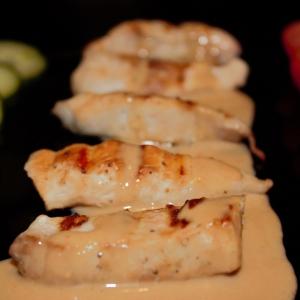 Арахис - Куриное филе с ореховым соусом