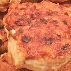 Рецепты из мяса птицы - Куриные котлеты с грибами