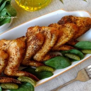 Острые блюда - Куриные крылышки-гриль по-испански