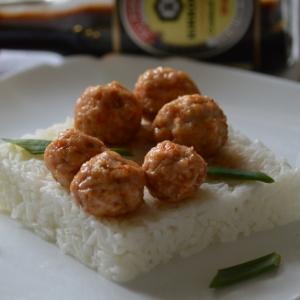 Рецепты японской кухни - Куриные шарики терияки