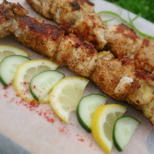 Душистый перец (ямайский перец, гвоздичный перец) - Куриные шашлычки в чесночно-сырной панировке