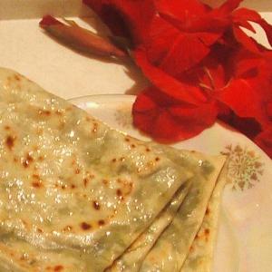 Рецепты азербайджанской кухни - Кутабы с зеленью