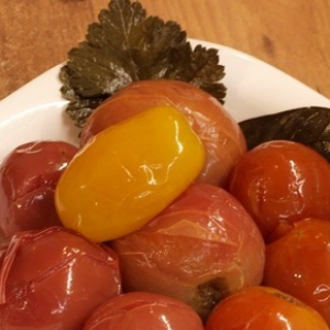 Хрен - Квашеные помидоры