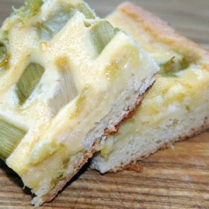Ревень - Латвийский пирог с ревенем