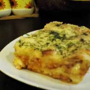 Рецепты итальянской кухни - Лазанья куриная