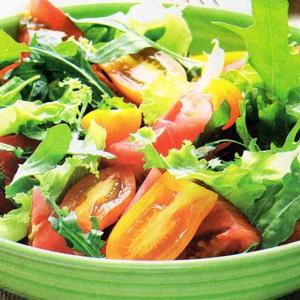 Розмарин - Легкий овощной салат с пармезаном
