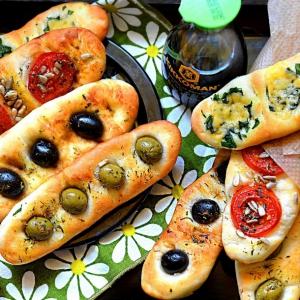 Оливки - Лепёшки на пикник