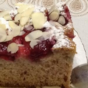 Йогурт - Летний фруктовый пирог