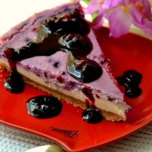Миндаль - Летний ягодный пирог