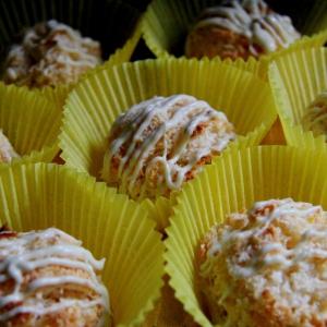 Кокос - Лимонно-кокосовые макарунс