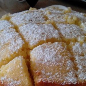 Рецепты белорусской кухни - Лимонный пирог