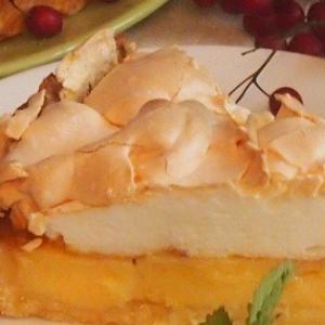 Рецепты французской кухни - Лимонный пирог из Ментона