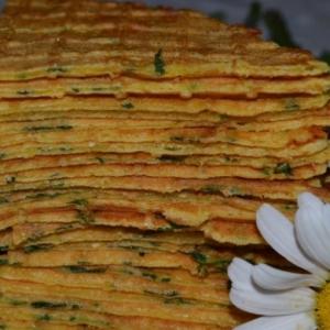 Простокваша - Луковые вафли с сыром
