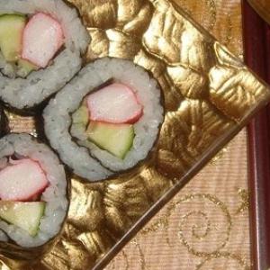 Комбу - Маки-суши в домашних условиях