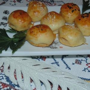 Тесто - Маленькие закусочные пирожки с сыром