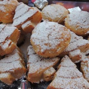 Рецепты из теста - Мандариновые кексы с сюрпризом