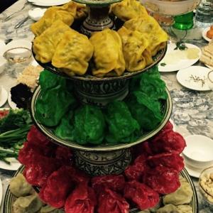 Узбекская кухня - Манты Светофор