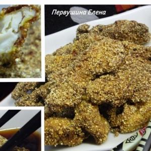 Рецепты японской кухни - Маринованная имбирная курица с красным перцем