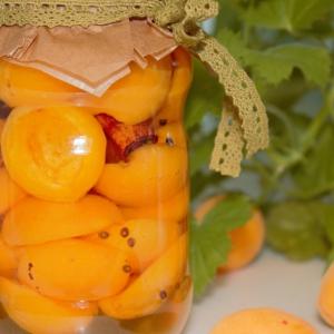 Гвоздика - Маринованные абрикосы