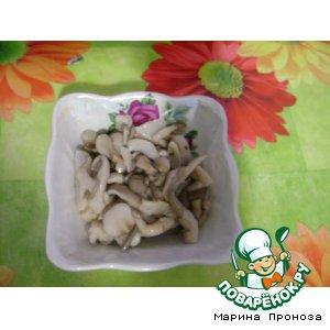 Вешенки - Маринованные грибы вешенки Домашние