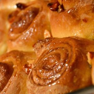 Пекан - Медовые булочки с корицей и пеканом