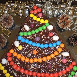 Нут - Мега-шоколадный торт Ёлочка