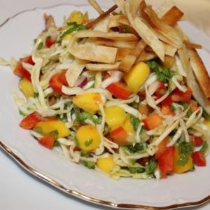 Рецепты для блендера - Мексиканский салат с тортильей