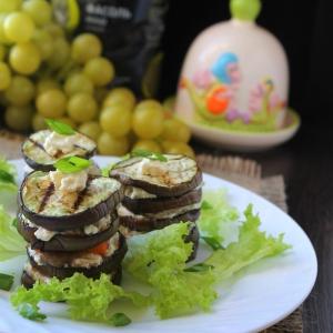 Фет - Мильфей из овощей и сыра