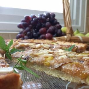 Инжир - Миндальный пирог с инжиром