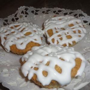 Тесто - Мини-бисквиты с белковым кружевом