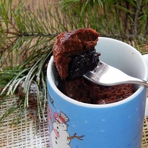 Чернослив - Моментальный кекс Чернослив в шоколаде
