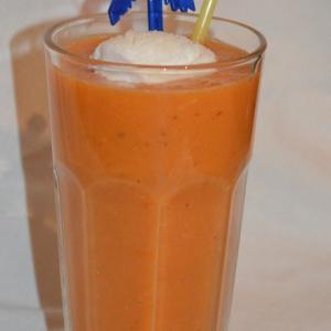 Мороженое - Морковно-апельсиновый коктейль