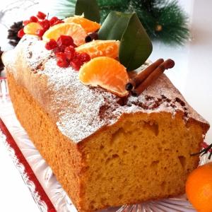Мандарин - Морковно-мандариновый кекс