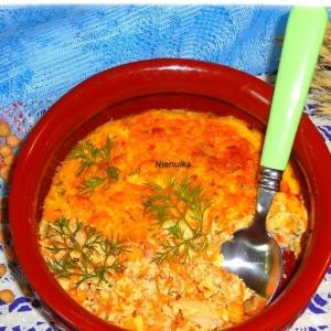 Нут - Морковно-рыбная запеканка с нутом