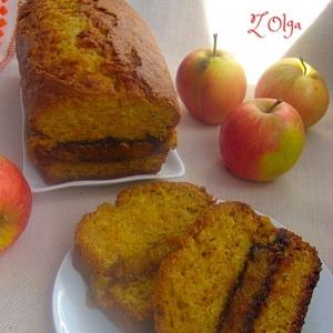 Гвоздика - Морковный кекс с фруктовой прослойкой