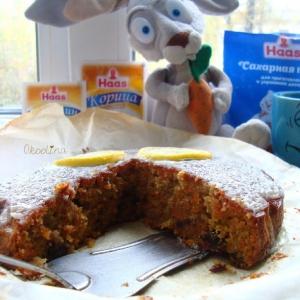 Рецепты славянской кухни - Морковный пирог
