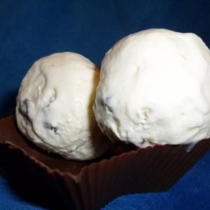 Мороженое с ромовым изюмом