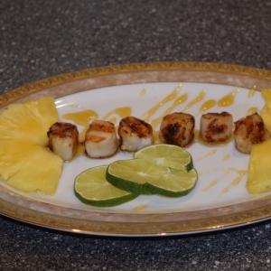 Рецепты тайской кухни - Морские гребешки-гриль в тайском стиле