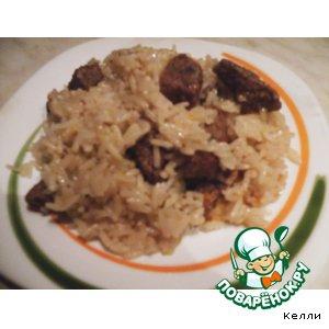 Узбекская кухня - Мой плов в духовке