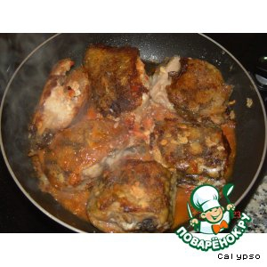 Ямайский перец - Мурена, жаренная по-азорски (Moreia frita)