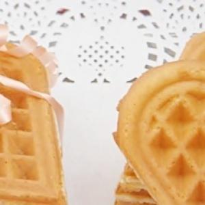 Ванилин - Мягкие вафли на сметане