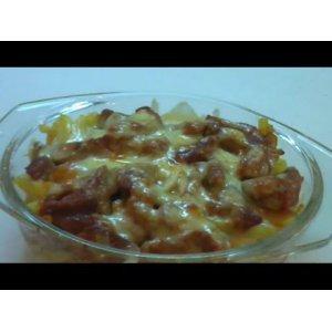 Рецепты латышской кухни - Мясная запеканка