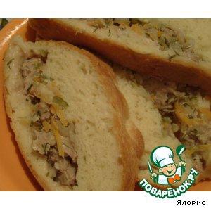 Душистый перец (ямайский перец, гвоздичный перец) - Мясной рулет в сдобной шубке