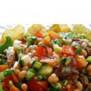 Телятина - Мясной салат Цветочек